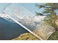 Edelweiss Keksplatte 370 x 130 x 18 mm
