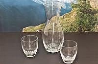 Edelweiss Trinkglas Ø 80 x 90 mm