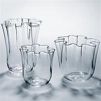 Nuvola-Vase hoch Ø 150 x 190 mm