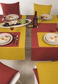 Tischläufer Loft zitrone 50x140cm Fb. 09