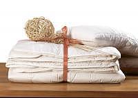 Cashmere/Wool Ganzjahresduvet 160x210cm