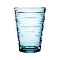 Aino Aalto Glas 2er Set hellblau 33cl