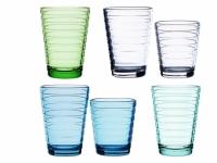 Aino Aalto Glas 2er Set apfelgrün 33 cl
