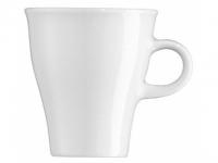 Move weiss Kaffee-Obertasse