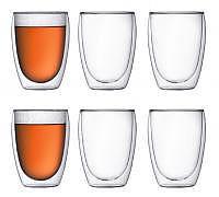 BODUM Pavina Glas 0.35l 6er-Set doppel..