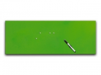Glasmagnetwand green 30x80cm
