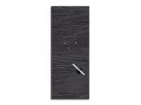 Glasmagnetwand Black Slate 30x80cm