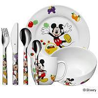 WMF Mickey Mouse Kinderset 7teilig
