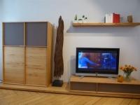 Lux Wohnwand in Kernbuche von Team7