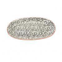 Asia Platte oval 24cm schwarz