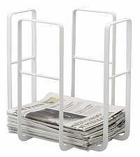 Zeitungsständer TOWER weiss
