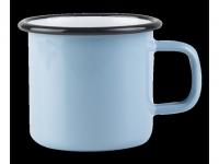 Muurla Henkelbecher Emaille Basic blau..