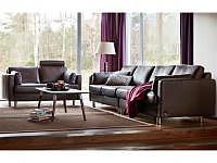 Stressless E600 2er-Sofa Cori Brown mi..