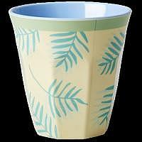 RICE Melaminbecher medium Palm Leaves ..