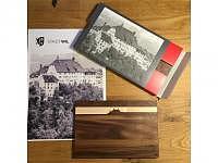 PanoramaKnife Holzschneidebrett 30x20c..
