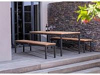 Fischer Möbel Rio Tisch 200x95cm mit V..