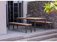 Fischer Möbel Rio Tisch 150x95cm mit V..