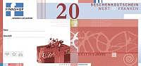 Gutschein 20 Franken