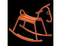 Schaukelpferd Adada karotte