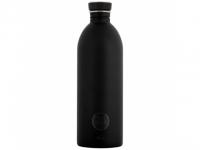 24bottles Trinkflasche Stahl 1.0l schw..
