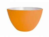 zak! Duo Schüssel orange/weiss 18cm