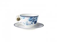 Cappuccinotasse mit Unterteller China ..