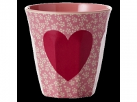 RICE Melaminbecher medium Heart Print ..