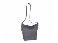 Latina neu Ledertasche gross titan