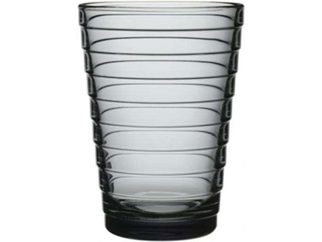 Aino Aalto Glas 2er Set grau 33 cl  WasserSaftglas